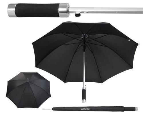 Nuages deštník automat Černá
