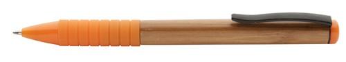 Bripp bambusové kuličkové pero Oranžová