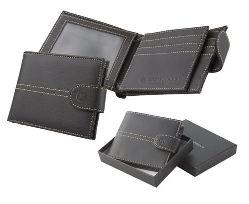 Faucon pánská peněženka Černá