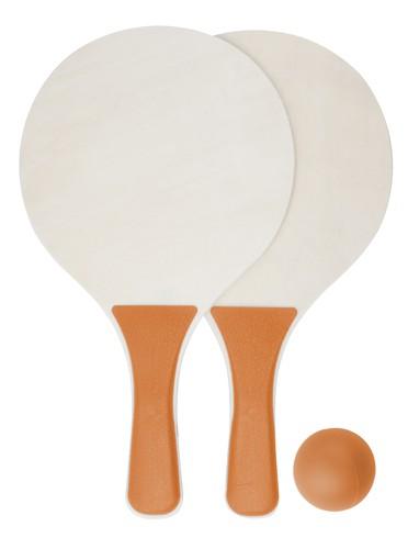 Tarik set na plážový tenis Oranžová