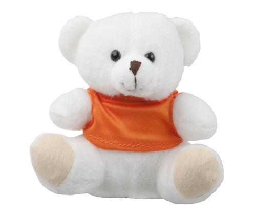 Morgen plyšový medvěd Bílá