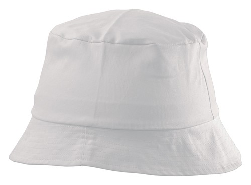 Marvin plážový klobouček Bílá