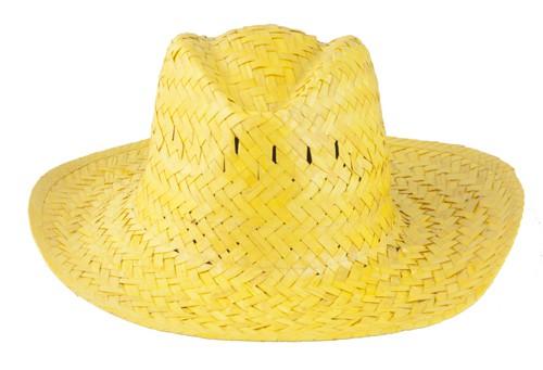 Splash plážový klobouk Žlutá