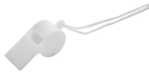 Claxo píšťalka Bílá