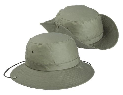 Safari klobouk Zelená
