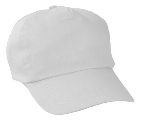 Sport baseballová čepice Bílá