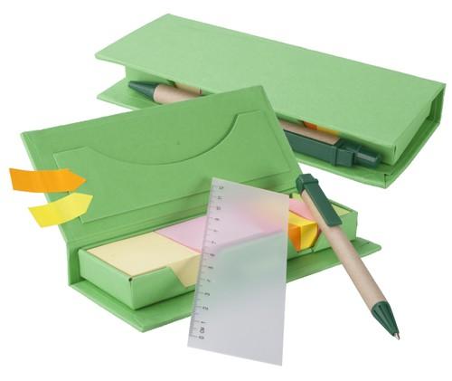 Gale poznámkový blok Zelená