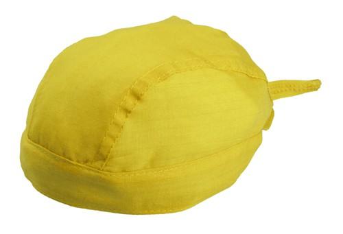Garfy šátek na hlavu Žlutá