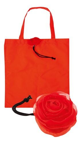 Rous skládací nákupní taška Červená