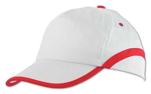 Line baseballová čepice Bílá