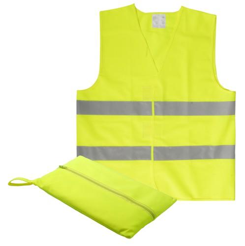 Visibo Mini dětská reflexní vesta Žlutá
