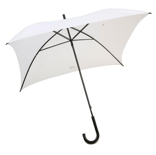 Square čtvercový deštník Bílá