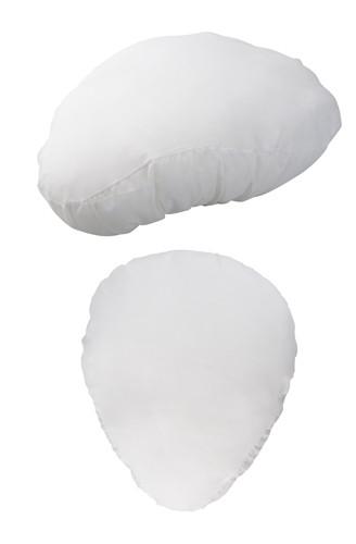 Trax potah na sedlo na kolo Bílá