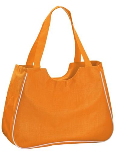 Maxi plážová taška Oranžová