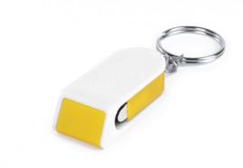 Satari stojánek na mobil s klíčenkou Žlutá