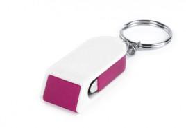 Satari stojánek na mobil s klíčenkou Růžová