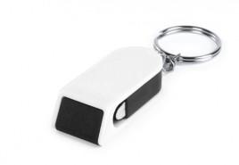 Satari stojánek na mobil s klíčenkou Černá