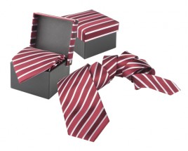 Vivonne kravata Bordó