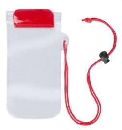 Waterpro voděodolný obal na mobil Červená