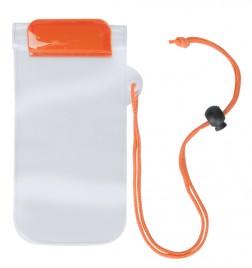 Waterpro voděodolný obal na mobil Oranžová