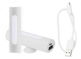 Khatim USB power banka Bílá