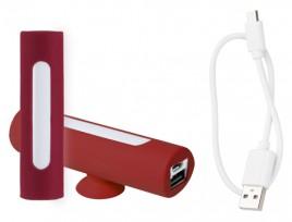 Khatim USB power banka Červená