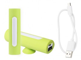 Khatim USB power banka Světle zelená