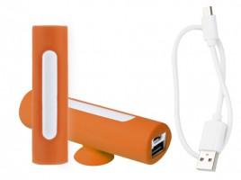 Khatim USB power banka Oranžová