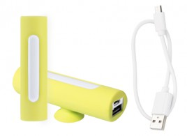 Khatim USB power banka Žlutá