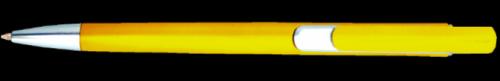 Propiska plast GIDI Žlutá