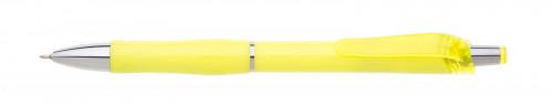 Propiska plast FLORI s náplní semigel Žlutá