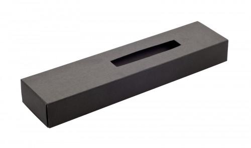 Krabička papírová na 1 pero PORE Černá
