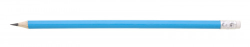 Tužka s gumou hrocená LUNGO Modrá světlá