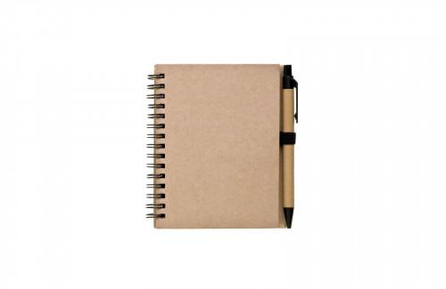Zápisník s tužkou REGIS A6 Natur