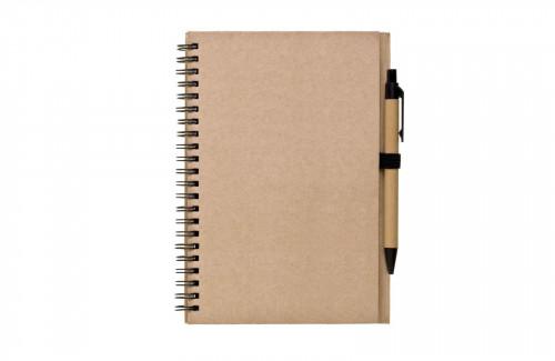 Zápisník s tužkou REGIS A5 Natur