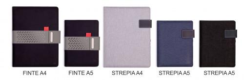 Portfolia FINTE+STREPIA (balíček vzorků 5 ks)