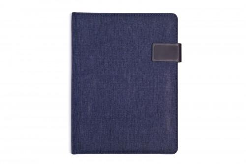 Portfolio textil STREPIA A4 Modrá
