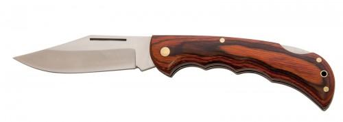 COLTE, lovecký nůž s dřevěným úchopem .
