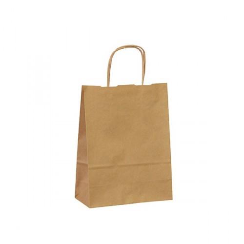 BORSA 18, papírová sulfátová taška Natur