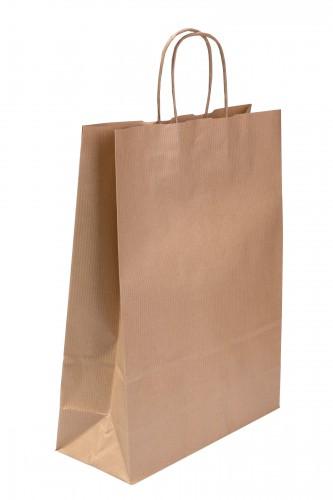 BORSA 32, papírová sulfátová taška Natur