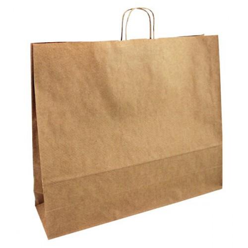 BORSA 54, papírová sulfátová taška Natur